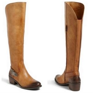 Vince Camuto Two Tone Bedina Tall Riding Boots